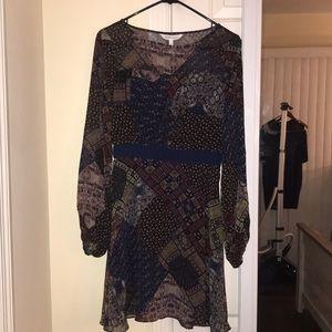 BCBGeneration multi pattern dress